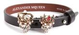 Alexander McQueen Women's King & Queen Skull Bracelet