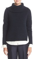 Nordstrom Women's Split Wool & Cashmere Sweater