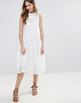 French Connection Clementine Cotton A-Line Midi Dress