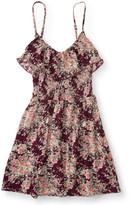 Floral Ruffle Smock Dress