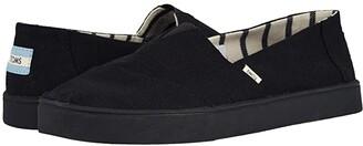 Toms Alpargata Cupsole (White Swan Heritage Canvas Cupsole) Men's Slip on Shoes