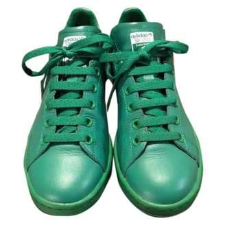 Raf Simons Adidas X Stan Smith Green Leather Trainers