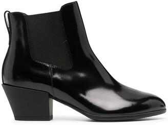 Hogan Texan ankle boots