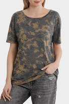 Only Truly Short Sleeve Camo Top