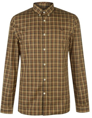 Fred Perry Fred Mens Twill Chequered Shirt