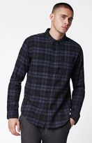 Ezekiel Gregory Plaid Flannel Long Sleeve Button Up Shirt