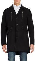 Karl Lagerfeld Wool-Blend Topcoat