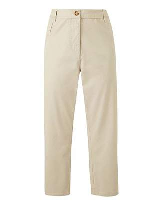 Jd Williams Comfort Stretch Crop Chino Trousers