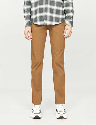 BOSS Tapered stretch-cotton chinos