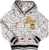 Dolce & Gabbana Prince Printed Hooded Cotton Sweatshirt