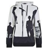 Dolce & Gabbana Jazz Shadow Hooded Sweatshirt