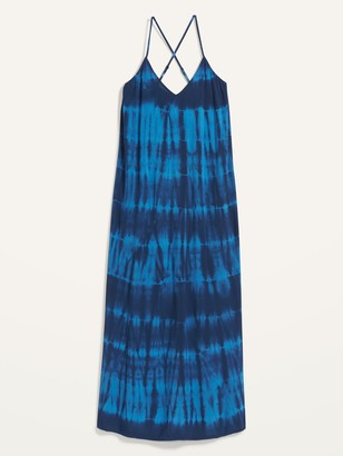 Old Navy Specially Dyed Sleeveless Maxi Shift Dress for Women