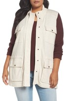 Plus Size Women's Caslon Sweatshirt Vest