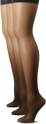 Hue Women's 3-Pack Sheer Shaper Hosiery