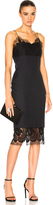 Victoria Beckham Pin Tailoring & Lace Dress
