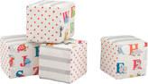 Cath Kidston Animal Alphabet Baby Fabric Cubes