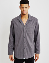 Calvin Klein Flannel Sleepwear Top Grey