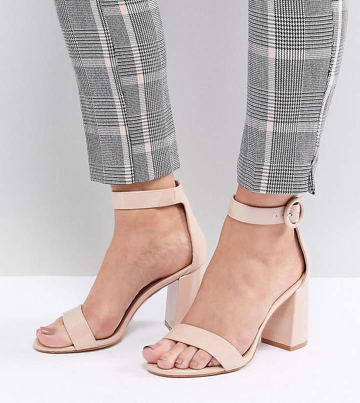 3212bdfcc6b0 Wide Fit Heeled Sandals - ShopStyle