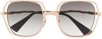 Kuboraum Oversized Square Sunglasses