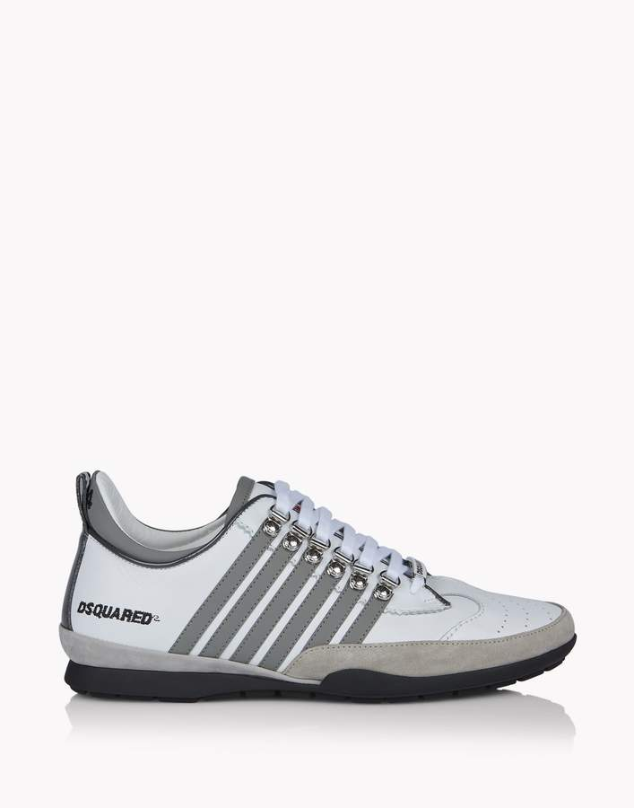 DSQUARED2 251 Rubber Leather Sneaker