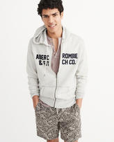 Abercrombie & Fitch Graphic Full-Zip Hoodie