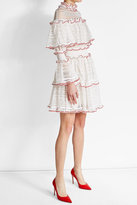 Alexander McQueen Knitted Dress with Flutter Detail