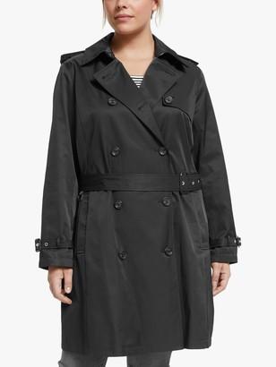 Ralph Lauren Ralph Curve Trench Coat, Black