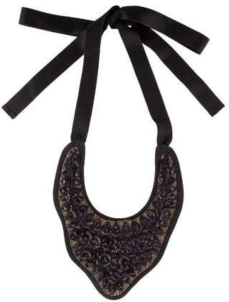 Marni Sequin Bib Necklace