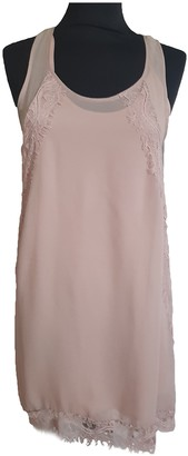 The Kooples Spring Summer 2019 Pink Silk Dresses