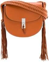Altuzarra tassel flapped shoulder bag