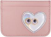 Sophie Hulme Pink Heart and Eyes Rosebery Card Holder