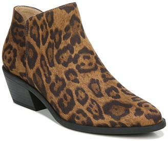 LifeStride Payton Leopard Print Ankle Boot - Wide Width Available