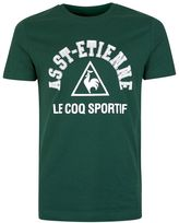 Le Coq Sportif Dark Green St Etienne T-shirt*