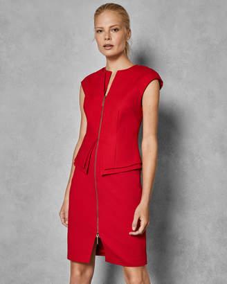 Ted Baker KWYLI Structured zip peplum dress