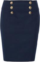 Emilio Pucci Cotton-blend twill skirt