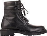 Saint Laurent Women's Leather Trekker Boots