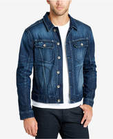 William Rast Men's Embroidered Denim Jacket