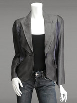 Arc Seam Draped Jacket