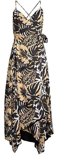 Azulu Luanda Safari Wrap Dress
