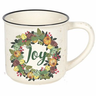Camper Enesco Our Name is Mud Country Living Joy Coffee Mug 16 Ounce