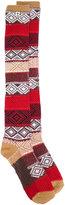 Twin-Set jacquard socks - women - Cotton/Polyamide/Spandex/Elastane - S/M