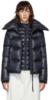Moncler Navy Down Bandama Jacket