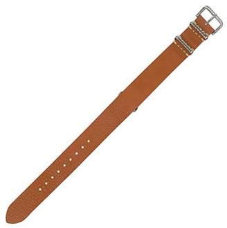Dakota Calfskin Leather tan Watch Strap (Model: 18557)