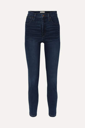 Madewell High-rise Skinny Jeans - Dark denim