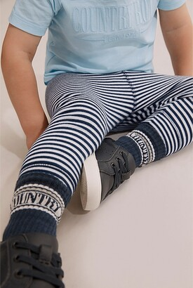 Country Road Organically Grown Cotton Stripe Soft Pant