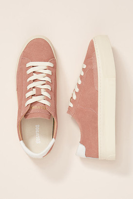 Soludos Ibiza Platform Sneakers By in Pink Size 6