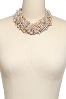 Saachi Imitation Pearl Statement Necklace