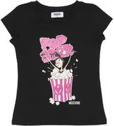 Moschino Popcorn Printed Cotton Jersey T-Shirt
