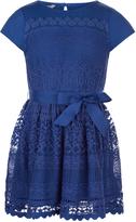 Monsoon Lianna Lace Jersey Dress