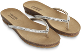 Monsoon Bluebell Footbed Sandal